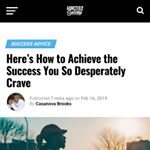 Addicted 2 Success (Article)