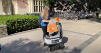 Food delivery robots