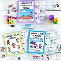 Let's Achieve Interactive Books | Spring Bundle