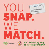 VA Fresh Match Program - EBT|P-EBT|SNAP Discount