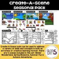Create-A-Scene Resource via BIAS Store Front