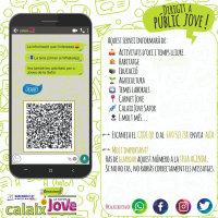 Servei de difusió per WhatsAap del Calaix Jove Safor