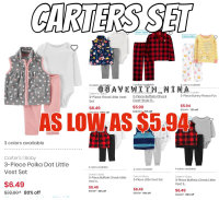 81% OFF Carters