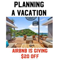 $20 OFF AIRBNB RENTALS