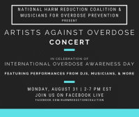 Overdose Awareness Day Concert