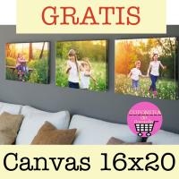 Canvas 16x20 GRATIS