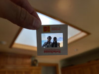 DIY ways to scan in old slides