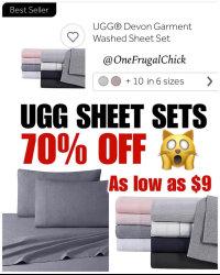 UGG SHEET SETS