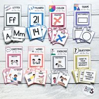 Focus Wall for Early Learner Skills