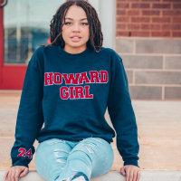 Collegiate HowardGirl Sweatshirt & Tee