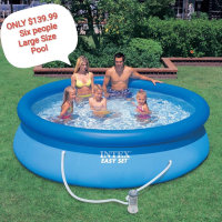 Large size pool only $139.99