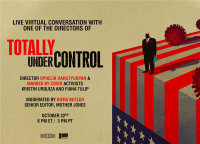 Live Conversation with one of the Directors of TOTALLY UNDER CONTROL