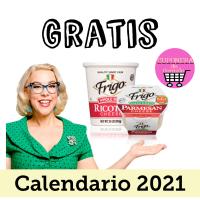 Calendario con recetas gratis