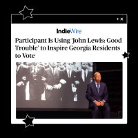 Participant Is Using 'John Lewis: Good Trouble' to Inspire GA Residents to Vote