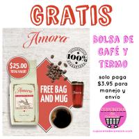 Bolsa de Café GRATIS solo paga $1 de envío