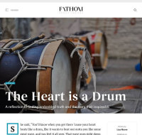 'The Heart is a Drum' ~ Published Work in Fathom Mag