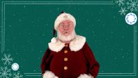 Custom AI Santa Greeting