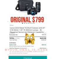 Canon camera Kit