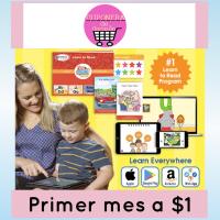 Programa para aprender a leer Hooked on Phonics a $1