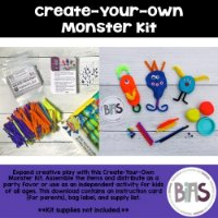 Create-Your-Own Monster Kit FREEBIE on TPT