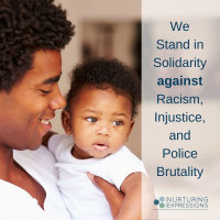 We Stand Against Racism, Injustice, Police Brutality
