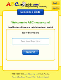 FREE ABC MOUSE for kids pre k to 2nd code SCHOOL7771
