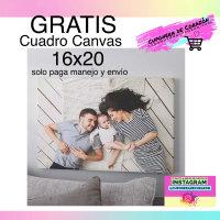 Cuadro Canvas de 16x20 GRATIS (solo paga manejo y envío)