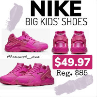Big Kids Nike Pink Shoes