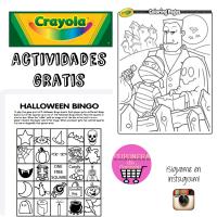 Actividades para Halloween gratis