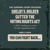 Take Action and Help Protect the Vote. #MakeGoodTrouble