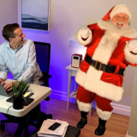 Apps to connect kids with Santa