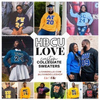 Custom Collegiate Sweatshirts 👉🏾 Find Your HBCU Here 👈🏾