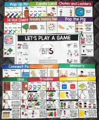 Board Game Visual Mats via BIAS Store Front