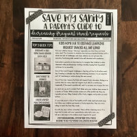 Save My Sanity Parent Newsletter (Decreasing Snack Requests)