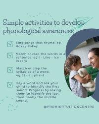 Activities to Develop Phonological Awareness