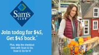 Free Sam's Club Membership After Gift card