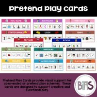 Pretend Play Cards via BIAS Store Front