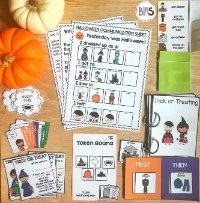 Halloween Visual & Behavioral Supports via BIAS Storefront
