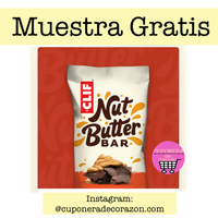 Muestra gratis de Nut Butter Baar
