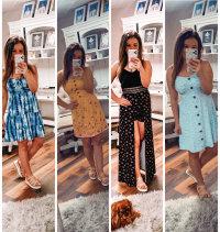 $11 Dresses from Walmart + $17 Maxi Romper