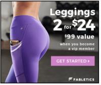 2 Leggings de Fabletics por $24