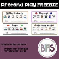 Pretend Play Visual FREEBIE