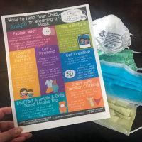 Wearing a Mask Tip Sheet Printable & Blog Post