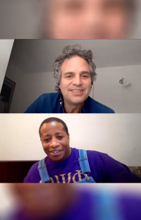 Mark Ruffalo talks COVID19 and Climate Justice with Mark Favors and Vic Barrett