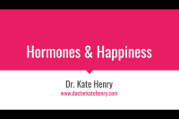 Hormones and Happiness Talk