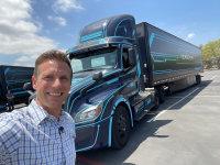 Electric Semi Truck Test Drive