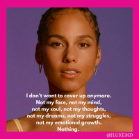 Alicia Keys: Time to Uncover (Open Letter)