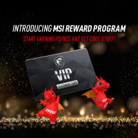#Join MSI Rewards Program to get bonus points now!