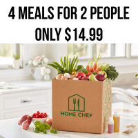 HOME CHEF DEAL only $14.99 first BOX It's $35 OFF 😍