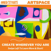 🎨 ART SPACE: Learn from our Teaching Artists in our Virtual Studio!